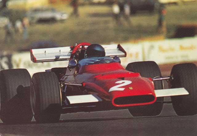 Ferrari 312 B1, Jacky Ickx.