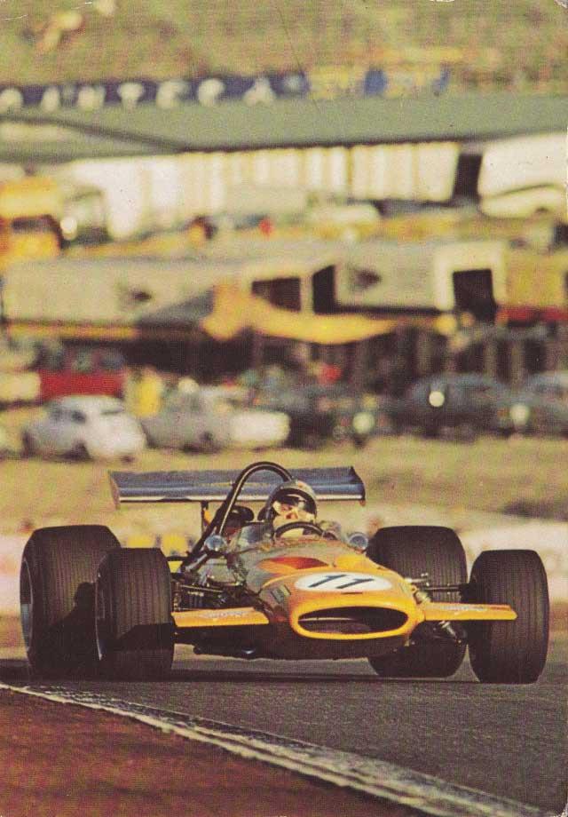 Bruce McLaren, McLaren Ford M14A.